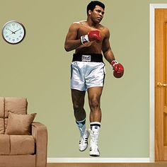 "Muhammad Ali ""The Greatest"" Wall Decal by Fathead"