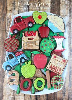 CookieCrazie: 2014 Apple Cookies Collection