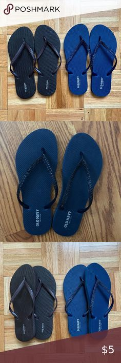 Youth Girls Size 12 2 Premium Flip Flop Jewel Dsign Sandals 13 FADED GLORY