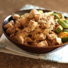 cool Garlicky Chicken and Onions
