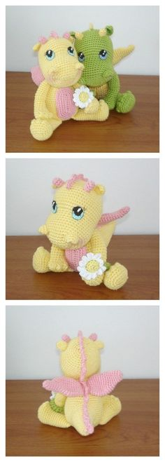 Crochet Amigurumi Dinosauro Gratis Pattern