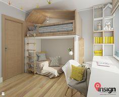 RUSL-01 - zdjęcie od InSign Pracownia Projektowa - Pokój dziecka - Styl Nowoczesny - InSign Pracownia Projektowa