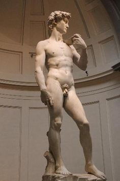 Michelangelo's statue of David, Galleria dell'Accademia, Florence, Italy