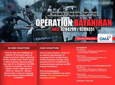 GMA Operation Bayanihan