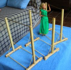 Barbie Clothes Rack