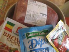 Keeper Worthy Recipes: 3 packet Pot Roast