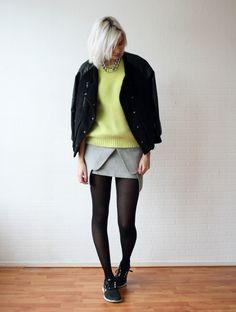 NEON AND GREY - Connected to fashion | creatorsofdesire.com