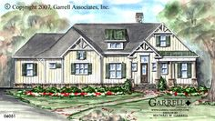 Sprucebow Cottage House Plan | House Plans by Garrell Associates, Inc