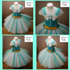Everest from Paw Patrol Inspired tutu dress by Lulu in a Tutu   Visit www.facebook.com/LuluinaTutu   #pawpatrol #everest #luluinatutu
