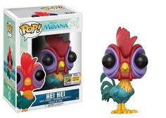 Funko 14681 Pop Disney: Moana Hei Hei SDCC Collectible Figure Summer Convention Exclusive From Moana, height , as a stylized pop vinyl summer convention Funk Pop, Disney Pop, Moana Disney, Disney Parks, Walt Disney, Pop Vinyl Figures, Hei Hei Moana, Dreamworks, Pop Bobble Heads