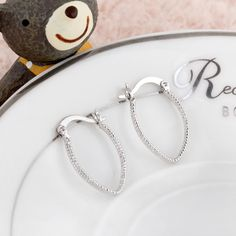 Fashion High Quality Hoop Copper Earring Two Colors Design for Women