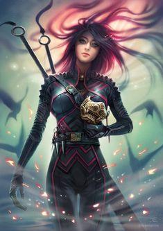 by ... by #Jasmin_Eilers #fantasy #fantasy #anime #art #skyrim #fallout