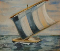 boat  Oil painting by Phil Barron