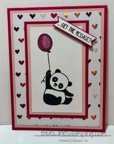 Stampin' Up! Party Pandas, Jackie Beers