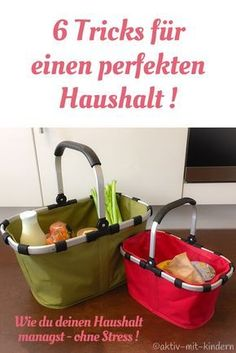 6 Tricks, wie du deinen Haushalt managst - ohne Stress My household tips! 6 tricks on how to manage your household - without stress! Household Cleaning Tips, Household Organization, Cleaning Hacks, Organizing, Management Tips, Extra Money, Getting Organized, Housekeeping, Clean House