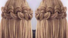 Penteados Faceis de Fazer Sozinha - Easy Big Loop Braids   Peinado 2015 ...