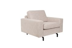 Jean sofa 1-seater - Latte #Sofa #Canapé  #Couch #Bank