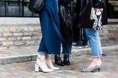Street style from London Fashion Week autumn/winter '17/'18 - Vogue Australia