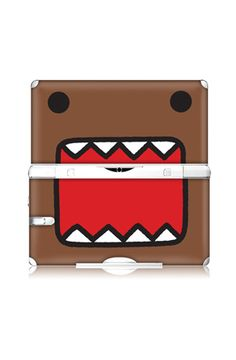 totally want this domo skin for my ds. yes, I am 12.