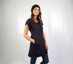 Hemp Fleece Pocket Tunic by consciousclothing on Etsy https://www.etsy.com/listing/168918324/hemp-fleece-pocket-tunic