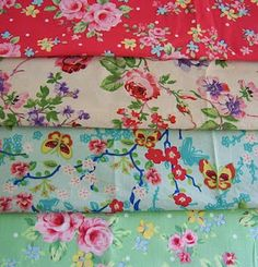 Fabric..sweet florals