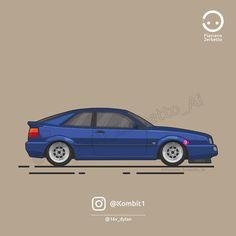 KombiT1: VW Corrado @16v_dylan Flat Design