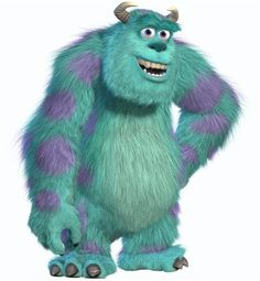 Sully from monsters inc pixar Disney Pixar, Disney Magic, Disney Movies, Walt Disney, Disney Wiki, Sully Monsters Inc, Disney Monsters, Monster Inc Birthday, Arts And Crafts