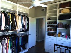 Turn your closet into your personal boutique! #californiaclosets