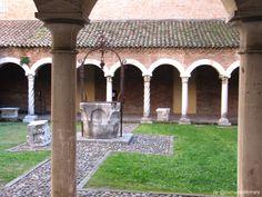 Chiostro dell'ex Chiesa di San Romano ora Museo della Cattedrale - #Ferrara