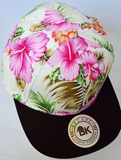 'Tropical Paradise Snapback Hat: Pink' http://www.shopaffordablychicboutique.com