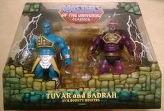 Tuvar and Badrah Custom Action Figure
