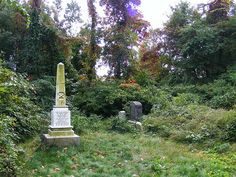 Ichabod Crane Grave Site by Michael Popowski, via Flickr. Asbury Methodist Cemetery, New Springville, New York