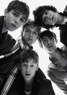 guys in a Burberry ad