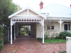 add attached carport to home - Google Search