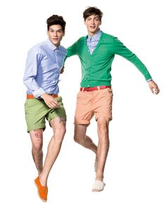 Green, the safe and delightful color for men in summer! Benetton Man Collection - Look 16