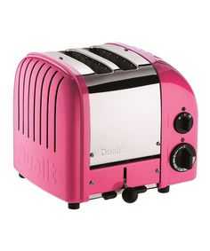 Take a look at this Chilly Pink Classic Two-Slice Toaster by Dualit on #zulily today! (Seriously, it's PINK!)