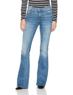 7 For All Mankind Womens Ali Flare Leg Jean Fillmore 30 -- More info could be found at the image url. (This is an affiliate link) Flare Leg Jeans, Wide Leg Jeans, All Fashion, Fashion Brands, Womens Fashion, Stylish Jeans, Sophisticated Style, Jeans Brands, Jeans Style