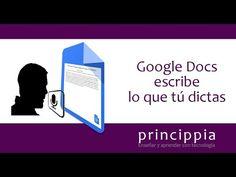 Os mostramos un complemento de Google Docs de reconocimiento de voz. Podemos, de esta manera, realizar dictados que quedarán mecanografiados en un documento ...