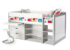 Smart storage solution for small bedroom