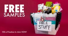 Check out all of the current freebies and samples that are available for you to claim. FREE SHIPPING - NO CARDS REQUIRED - NO SURVEYS! Freebies By Mail, Baby Freebies, Free Baby Samples, Free Samples By Mail, Get Free Stuff, Free Baby Stuff, Free Birthday Food, Free Coupons By Mail, Clif Bars