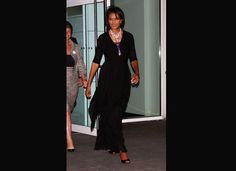 Michelle Obama on June 18, 2008 in New York