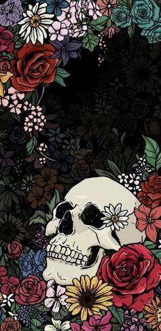 Wallpaper art skull wallpaper, skull art ve screen wallpaper Screen Wallpaper, Cool Wallpaper, Wallpaper Backgrounds, Wallpaper Quotes, Phone Backgrounds, Aesthetic Iphone Wallpaper, Aesthetic Wallpapers, Skull Wallpaper Iphone, Skeleton Art