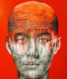 Vichit Nongnual – Untitled Portrait 17 – 130 x 150