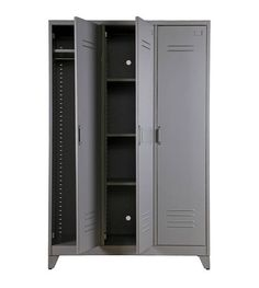 Metal Locker Cabinet at Idyll Home Metal Storage Cabinets, Storage Shelves, Locker Storage, Vintage Lockers, Metal Lockers, Metal Furniture, Luxury Furniture, Furniture Vintage, Furniture Storage