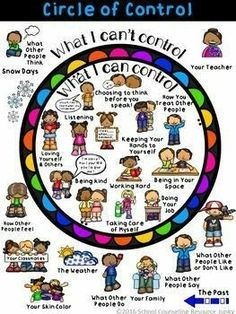 Early Elementary Counseling: What Are Things I Can Control & I Can't Control Early Elementary Counseling: What Are Things I Can Control & I Can't Control,Psychologie Related posts:Social Emotional Learning Activities - Class Challenge. Elementary Counseling, Counseling Activities, School Counselor, Therapy Activities, Elementary Schools, Anger Management Activities For Kids, Group Counseling, Play Therapy, Anxiety Activities