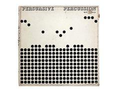 Josef Albers record album design 1959. Persuasive by NewDocuments, $17.00