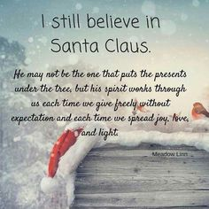 Merry ChristmasSpread Joy Love and Light