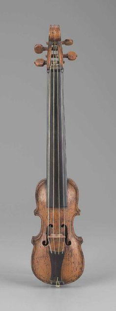 Dancing master's violin Christian Phillip Blumenhagen, 1753