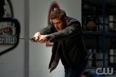 """""""Party On, Garth"""" - Jensen Ackles as Dean in SUPERNATURAL on The CW.  Photo: Jack Rowand/The CW©2012 The CW Network, LLC. All Rights Reserved."""