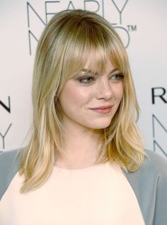 Emma Stone at Revlon's Nearly Naked Makeup Launch